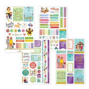 Family Life Weekly Kit Planner Stickers