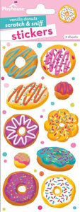 Vanilla Donuts Scratch and Sniff Stickers