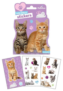 Kittens Shaped Sticker Pack