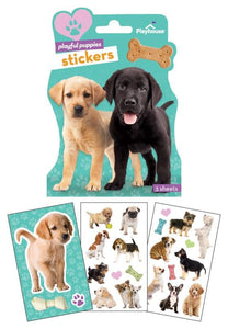 Puppies Shaped Sticker Pack