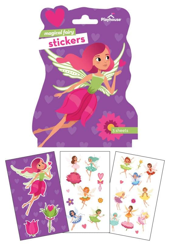 fairies shaped sticker pack