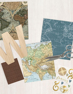 Travel Sticker Craft Set