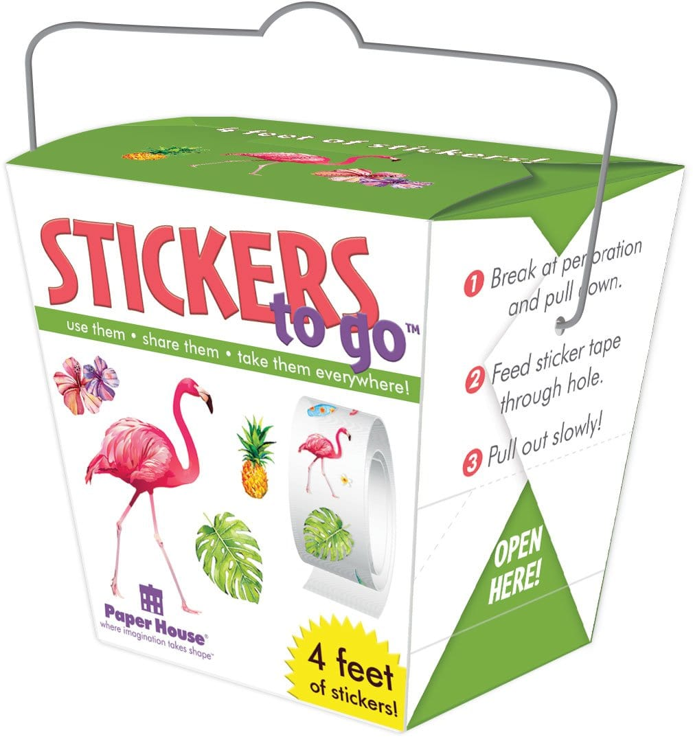 Tropical Stickers to Go