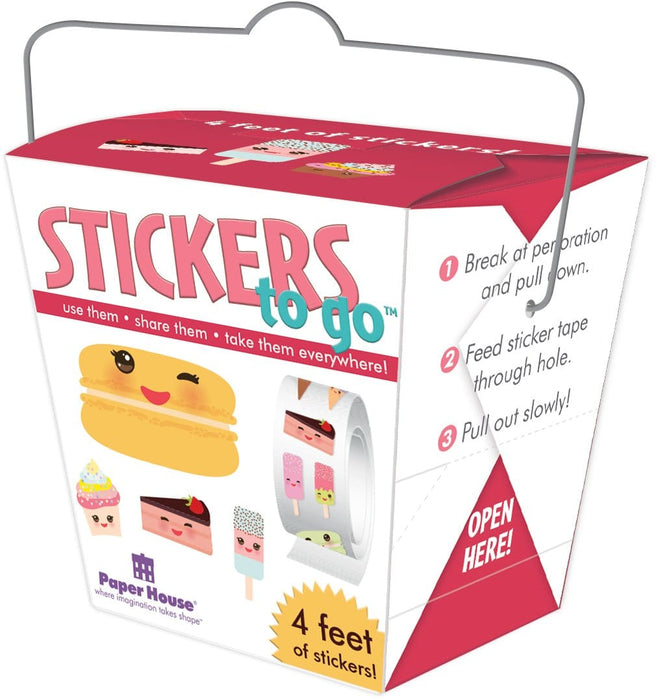 Sweet Treats Stickers to Go