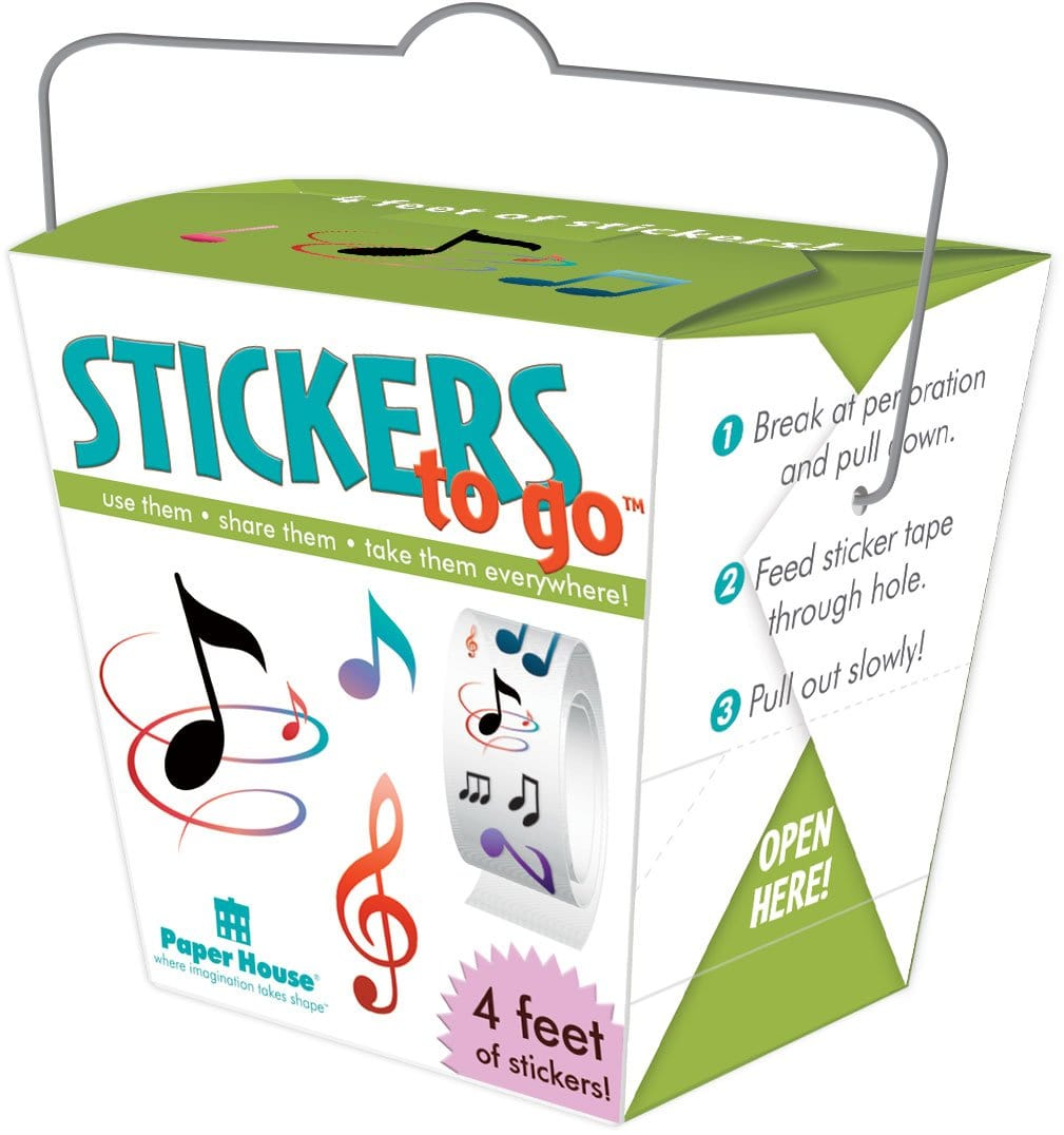 Music Stickers to Go