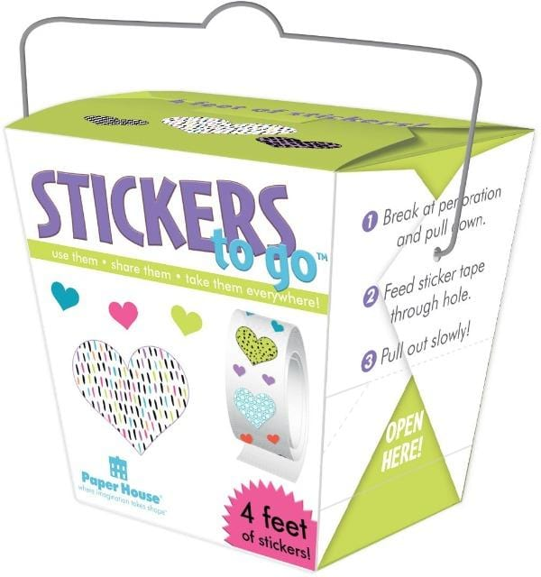 Hearts Stickers to Go