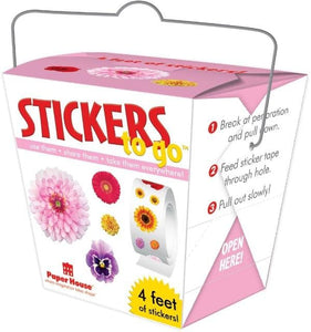 Flowers Stickers to Go