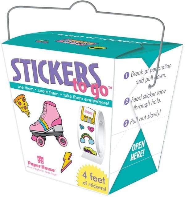 90's Icons Stickers to Go