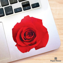 Load image into Gallery viewer, Red Rose Vinyl Sticker