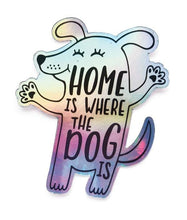 Load image into Gallery viewer, Holographic Dog Vinyl Sticker