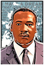 Load image into Gallery viewer, Martin Luther King Jr. Vinyl Sticker