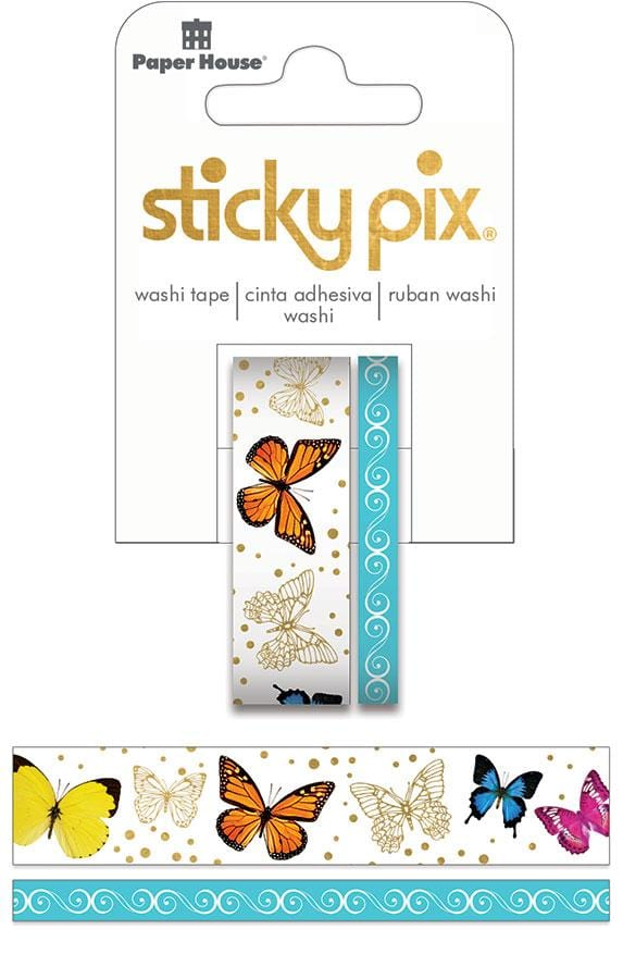 Butterflies Washi Tape Set