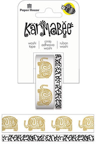 Elephants Washi Tape Set