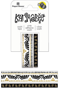 boat pattern washi tape set