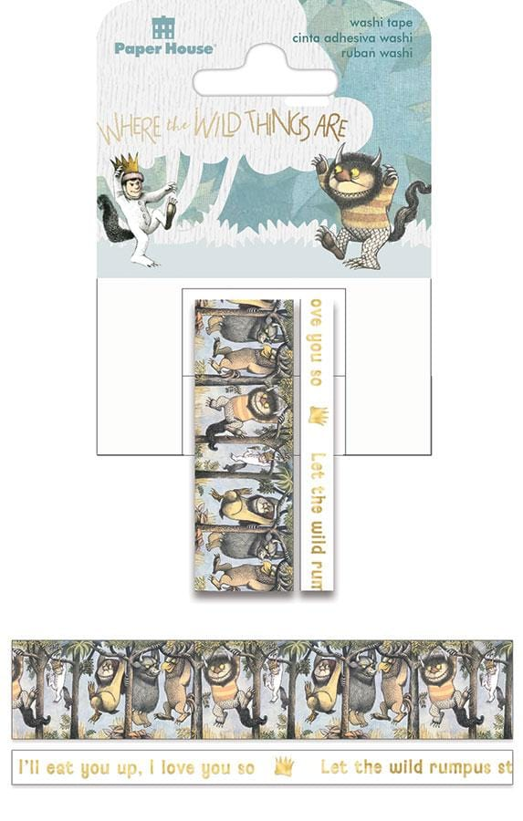 Where the Wild Things Are™ Washi Tape Set
