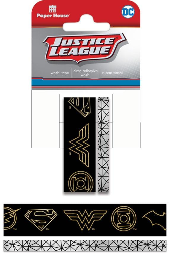 Justice League ™ Logo Washi Tape Set