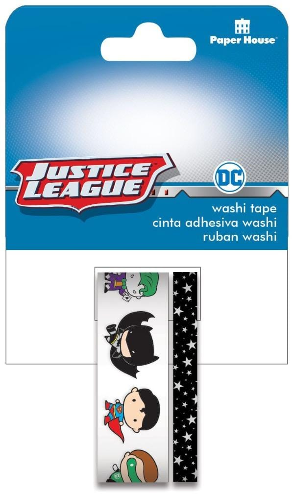 Justice League ™ Chibi Characters Washi Tape Set