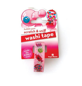 Bubble Gum Scratch & Sniff Washi Tape