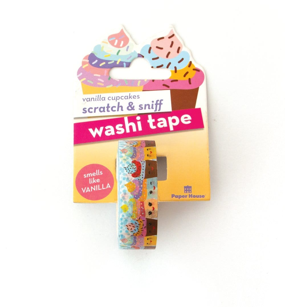 Vanilla Cupcakes Scratch & Sniff Washi Tape