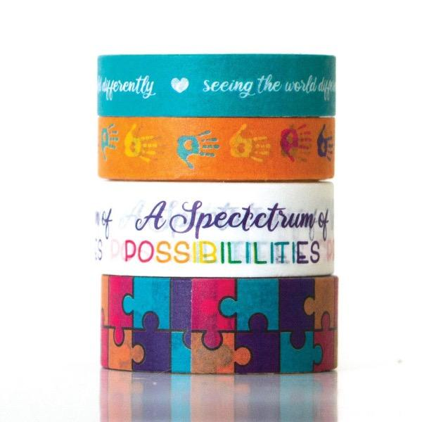 autism washi tape set