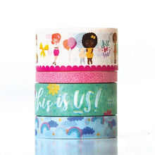 Load image into Gallery viewer, Just Be You Washi Tape Set