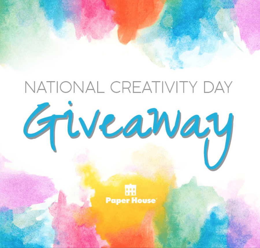 Creativity Day Giveaway