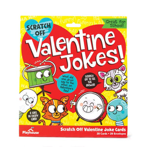 Scratch-Off Jokes Valentines