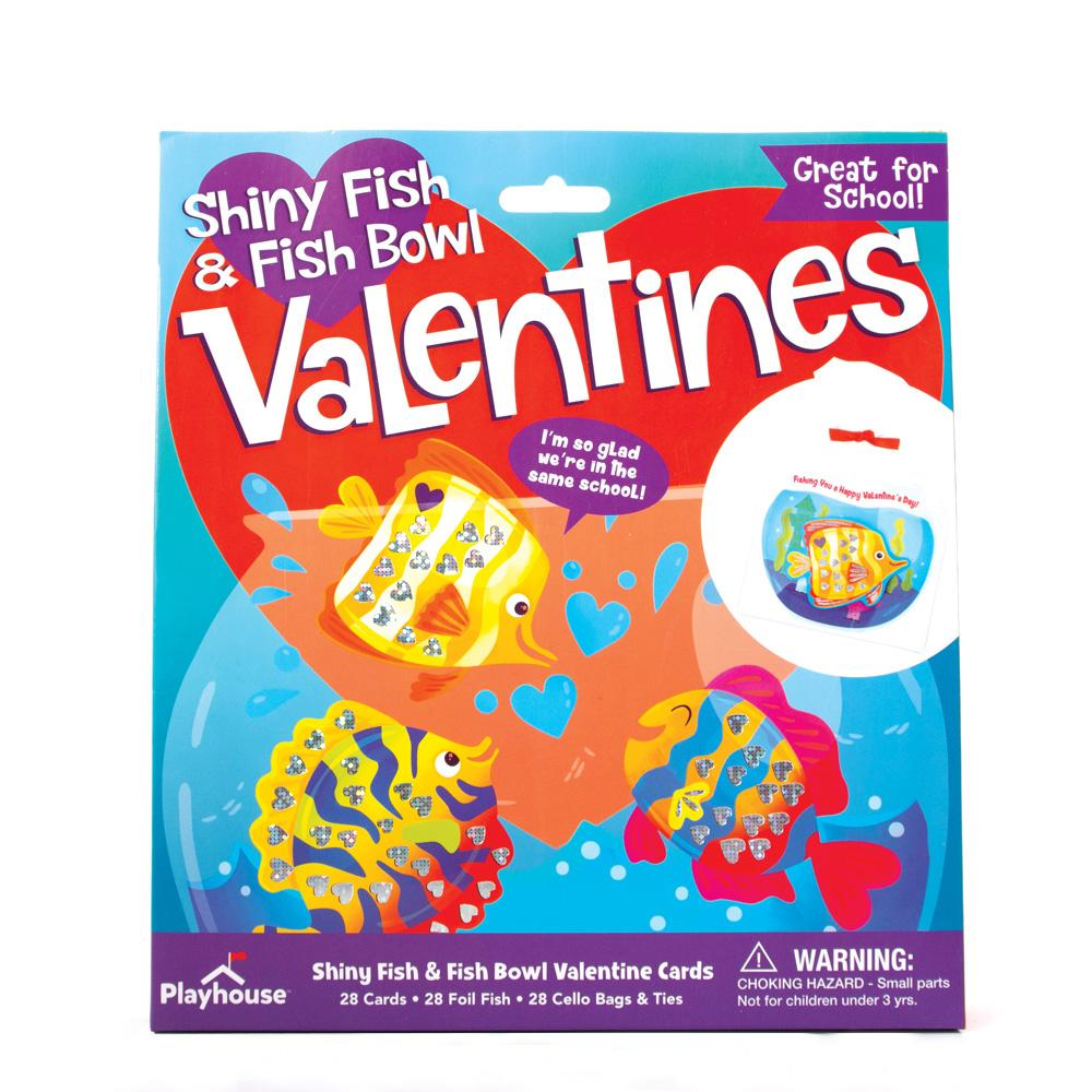 Shiny Fish and Fishbowl Valentines