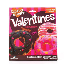 Load image into Gallery viewer, Donut Scratch and Sniff Valentines