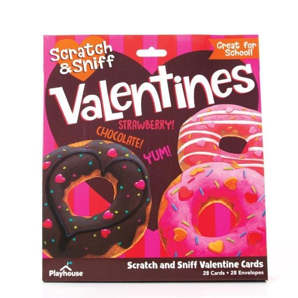 Donut Scratch and Sniff Valentines