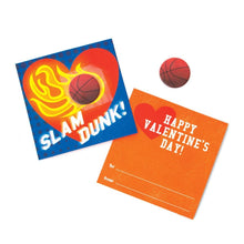 Load image into Gallery viewer, Sports Balls Puffy Sticker Valentines
