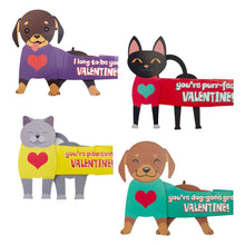 Load image into Gallery viewer, Super Stretch Pets Valentines