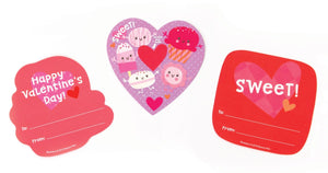 Strawberry Sweets Scratch and Sniff Valentines
