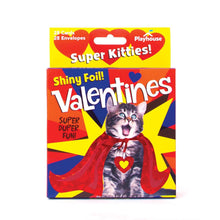 Load image into Gallery viewer, Super Kitties Foil Valentines