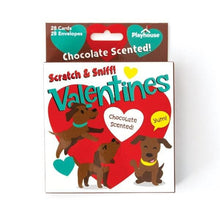 Load image into Gallery viewer, chocolate lab scratch and sniff valentines