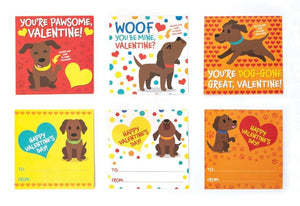 Chocolate Lab Scratch and Sniff Valentines