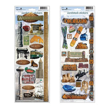 Load image into Gallery viewer, american road trip sticker bundle