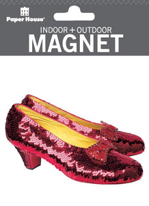Wizard of Oz?äó Ruby Slippers Indoor + Outdoor Magnet
