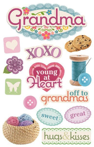 Grandma 3D Sticker
