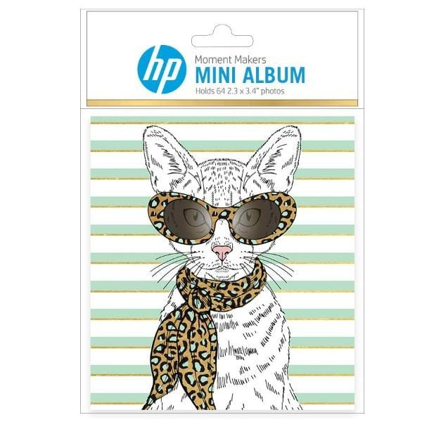 HP Moment Makers Fashion Cat Soft Cover Mini Album