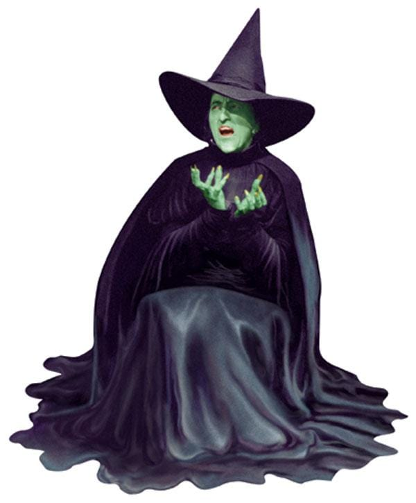 Oz-Wicked Witch Diecut Card
