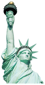 Statue of Liberty Diecut Card