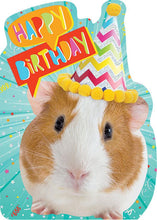 Load image into Gallery viewer, Guinea Pig Foil Card