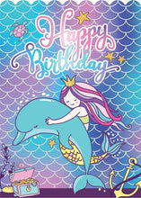 Load image into Gallery viewer, Mermaid Foil Card