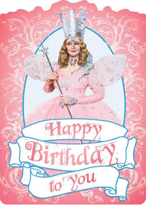 Wizard of Oz™- Glinda Glitter Card