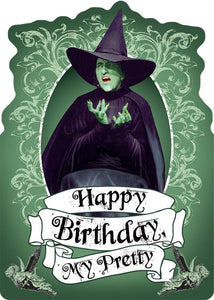 Wizard of Oz™ - Wicked Witch Glitter Card