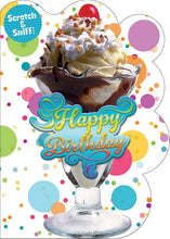 Load image into Gallery viewer, Ice Cream Sundae Scratch & Sniff Card