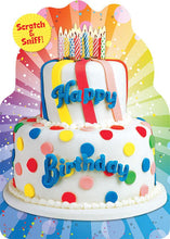 Load image into Gallery viewer, Birthday Cake Scratch & Sniff Card