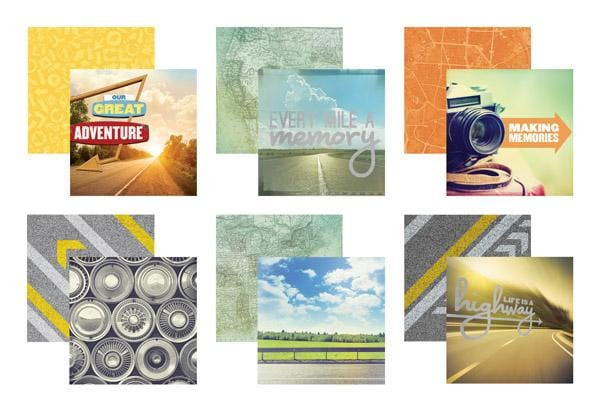 Road Trip Mixed Card Pack
