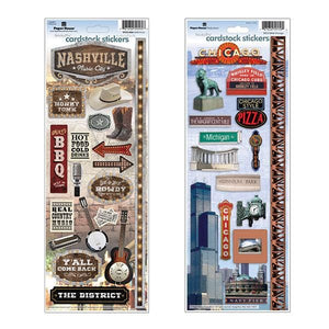 Great American Cities Sticker Bundle